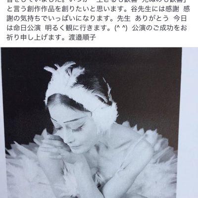 「瀕死の白鳥」に憧れて